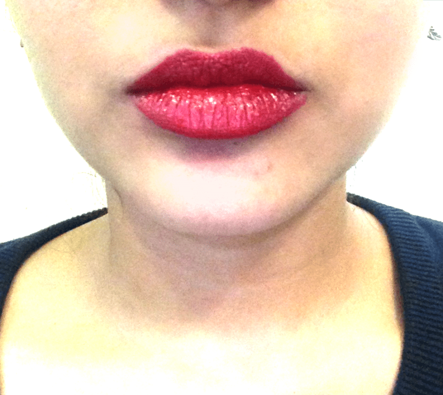 Maybelline Color Sensational Lipstick Pleasure Me Red Review 2