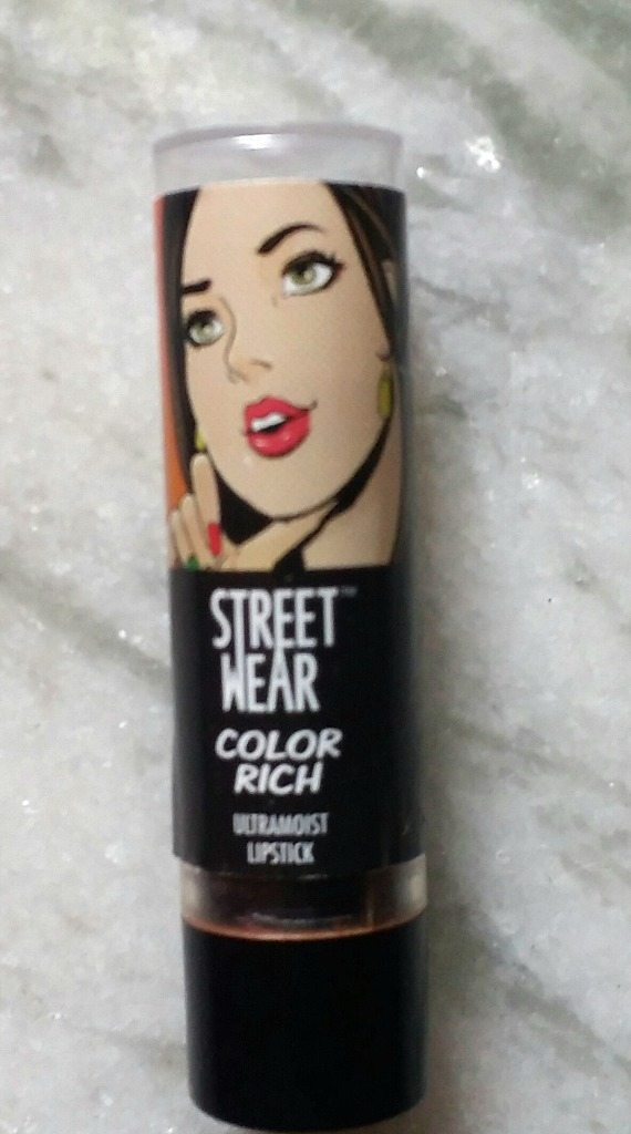 Streetwear Colour Rich Ultramoist Ginger Hot Lipstick Review 6