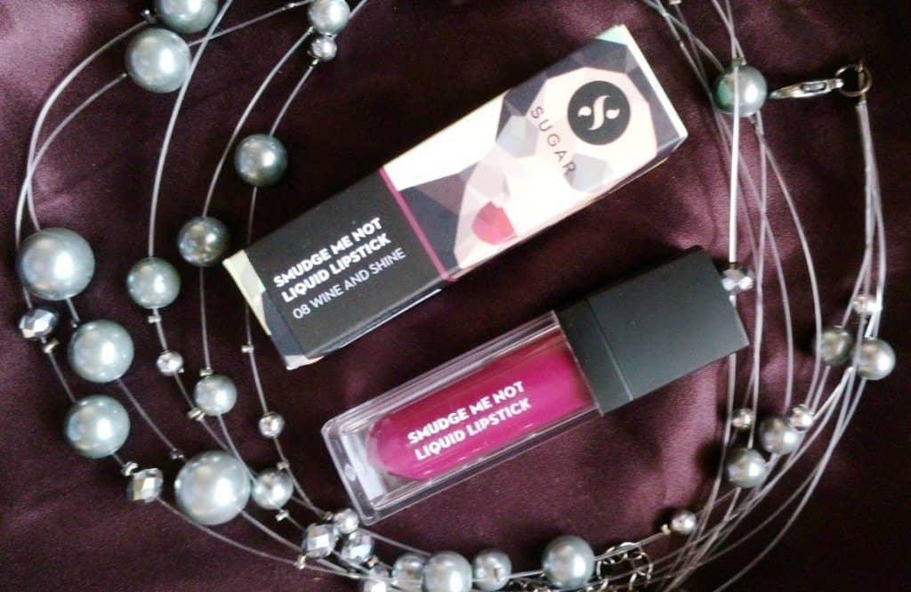 Sugar Cosmetics Smudge Me Not Liquid Lipstick Wine and Shine 08 Review 2