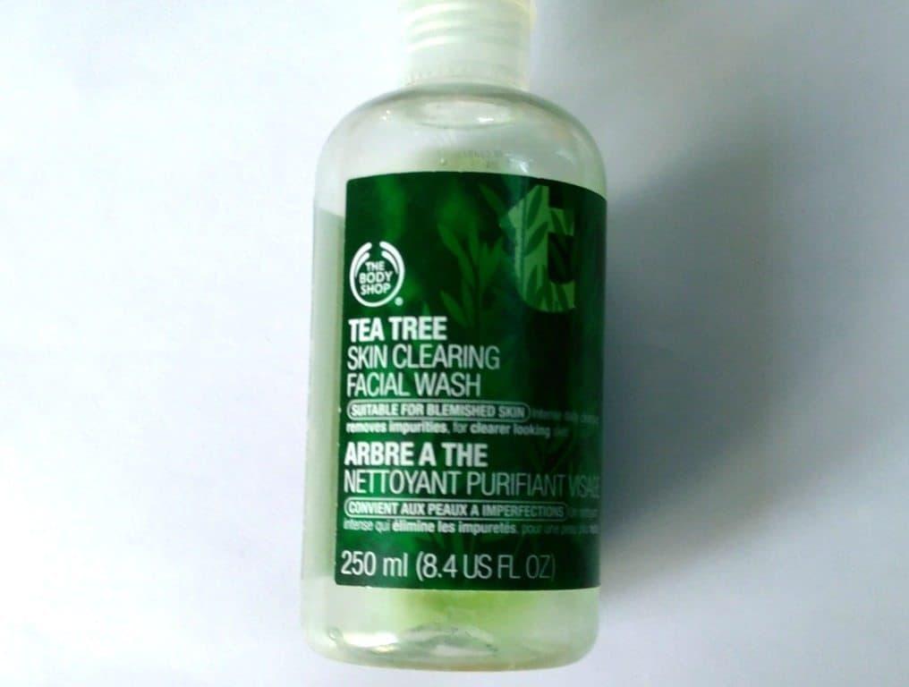 the Body Shop Tea Tree Skin Clearing Facial Wash , bodyshop tea tree face wash