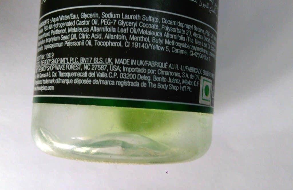 the Body Shop Tea Tree Skin Clearing Facial Wash , bodyshop tea tree face wash 3